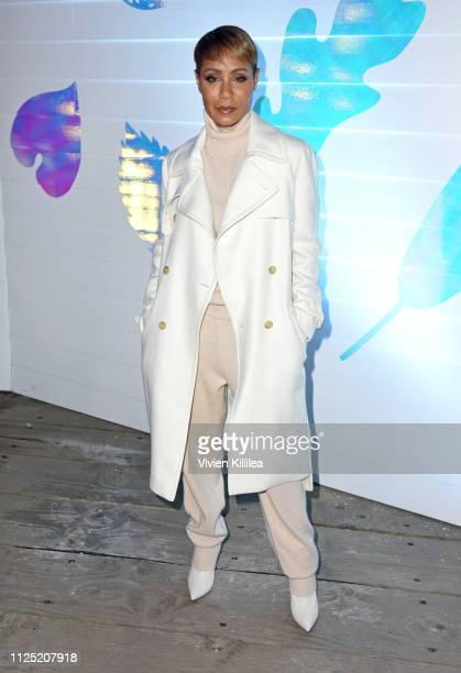 "Jada Pinkett Smith at the ""Hala"" party at DIRECTV Lodge presented by ATT at Sundance Film Festival 2019 on January 26 2019 in Park City Utah"