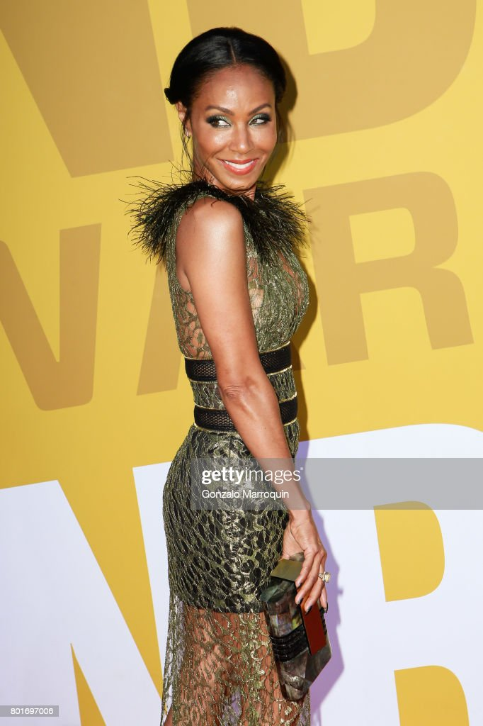 Jada Pinkett Smith attends the 2017 NBA Awards at Basketball City - Pier 36 - South Street on June 26, 2017 in New York City.