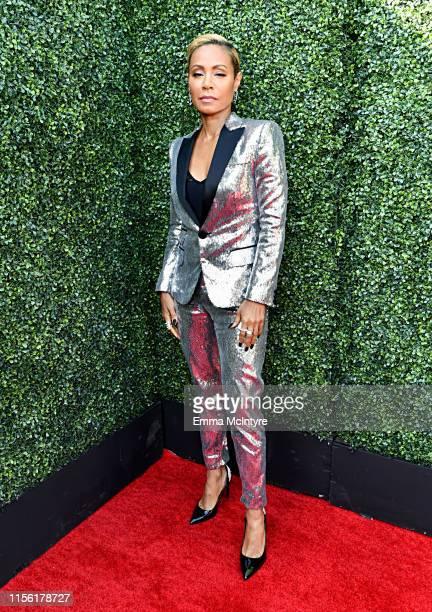 Jada Pinkett Smith attends the 2019 MTV Movie and TV Awards at Barker Hangar on June 15 2019 in Santa Monica California