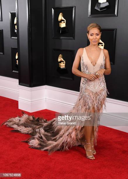 Jada Pinkett Smith attends the 61st Annual GRAMMY Awards at Staples Center on February 10 2019 in Los Angeles California