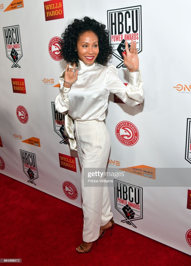 Jada Pinkett Smith attends The HBCU Power Awards at Morehouse College on October 20, 2017 in Atlanta, Georgia.