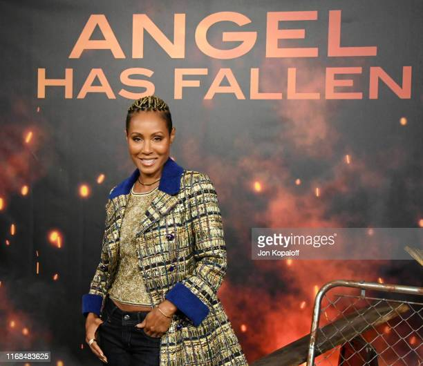 Jada Pinkett Smith attends the Photocall For Lions Gate's Angel Has Fallen at the Beverly Wilshire Four Seasons Hotel on August 16 2019 in Beverly...