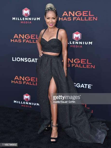 Jada Pinkett Smith attends the LA Premiere of Lionsgate's Angel Has Fallen at Regency Village Theatre on August 20 2019 in Westwood California