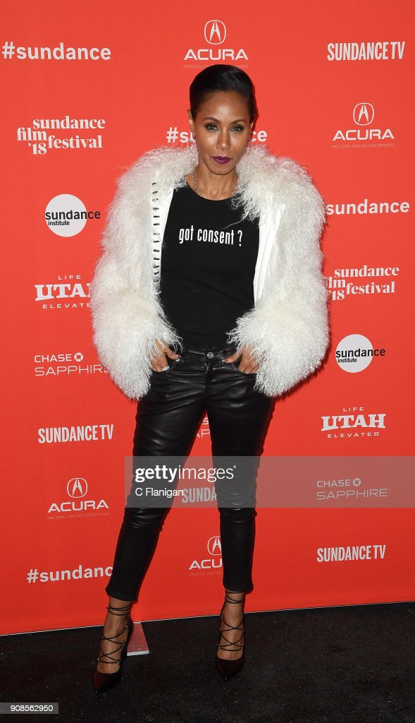 Jada Pinkett Smith attends the 'Skate Kitchen' Premiere during 2018 Sundance Film Festival at Egyptian Theatre on January 21, 2018 in Park City, Utah.