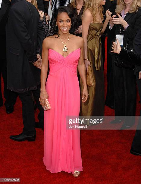 Jada Pinkett Smith during 13th Annual Screen Actors Guild Awards Arrivals at Shrine Auditorium in Los Angeles California United States