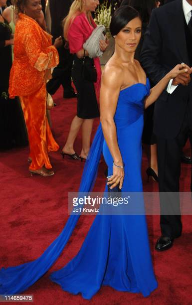 Jada Pinkett Smith during The 78th Annual Academy Awards Red Carpet at Kodak Theatre in Hollywood California United States