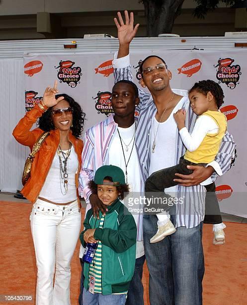 Jada Pinkett Smith, nephew Kyle, Will Smith and kids