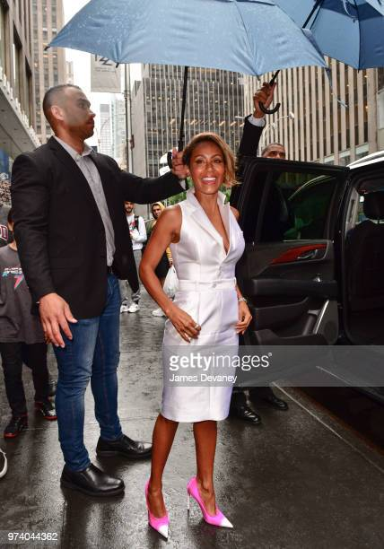 Jada Pinkett Smith seen on the streets of Manhattan on June 13 2018 in New York City