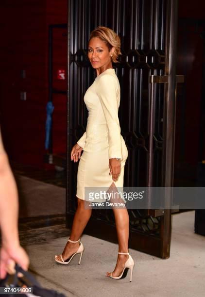 Jada Pinkett Smith seen on the streets of Manhattan on June 13 2018 in New York City
