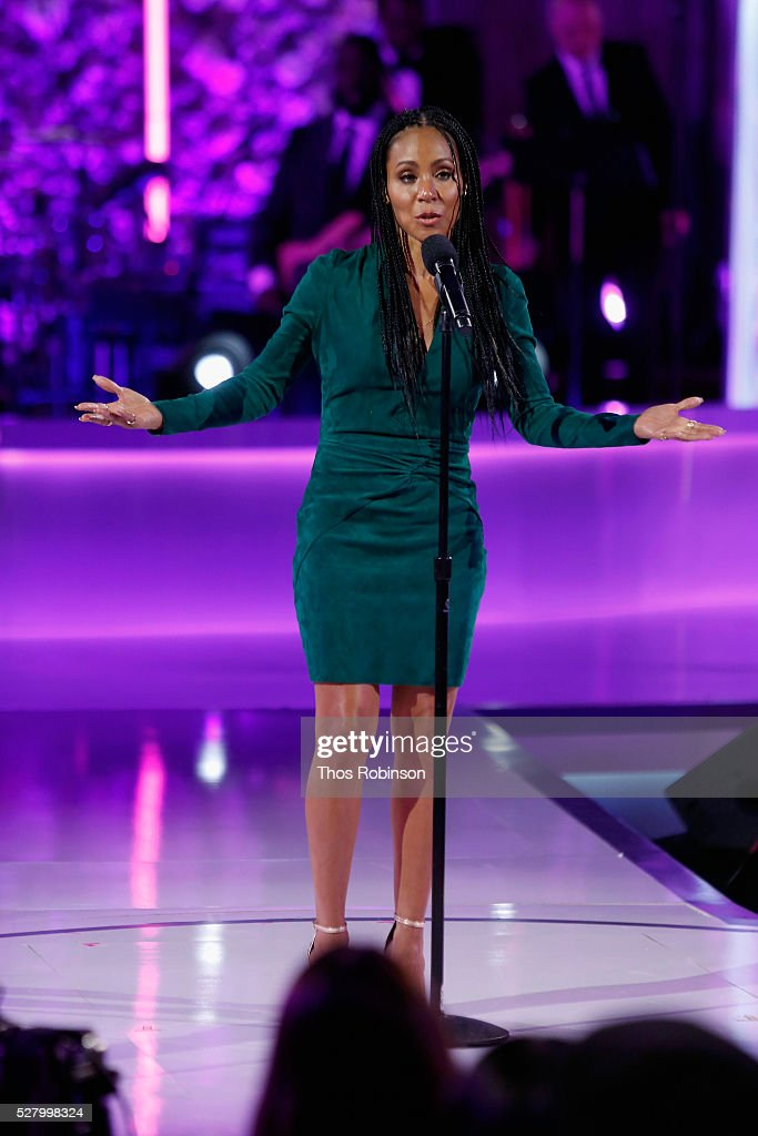 Jada Pinkett Smith speaks onstage at VH1's 'Dear Mama' Event on May 3, 2016 in New York City. Tune-in to VH1 on Sunday, May 8, 2016 at 9pm to watch 'Dear Mama'.