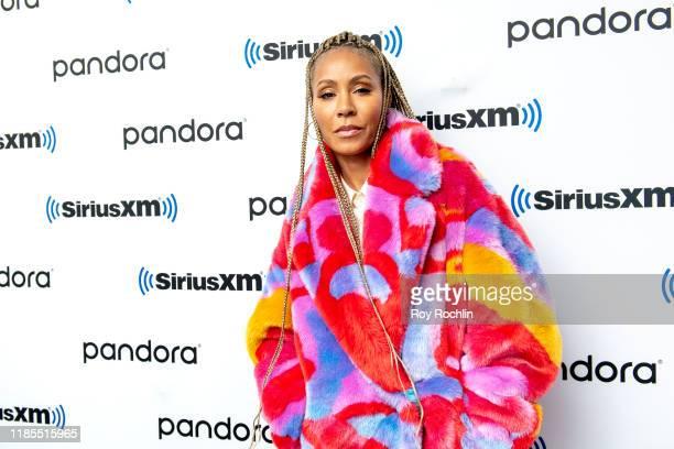 Jada Pinkett Smith visits SiriusXM Studios on November 04 2019 in New York City