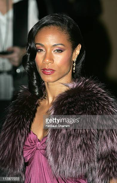 """Jada Pinkett-Smith during """"Pursuit of Happyness"""" - London Premiere - Red Carpet Arrivals at Curzon Mayfair in London, United Kingdom."""