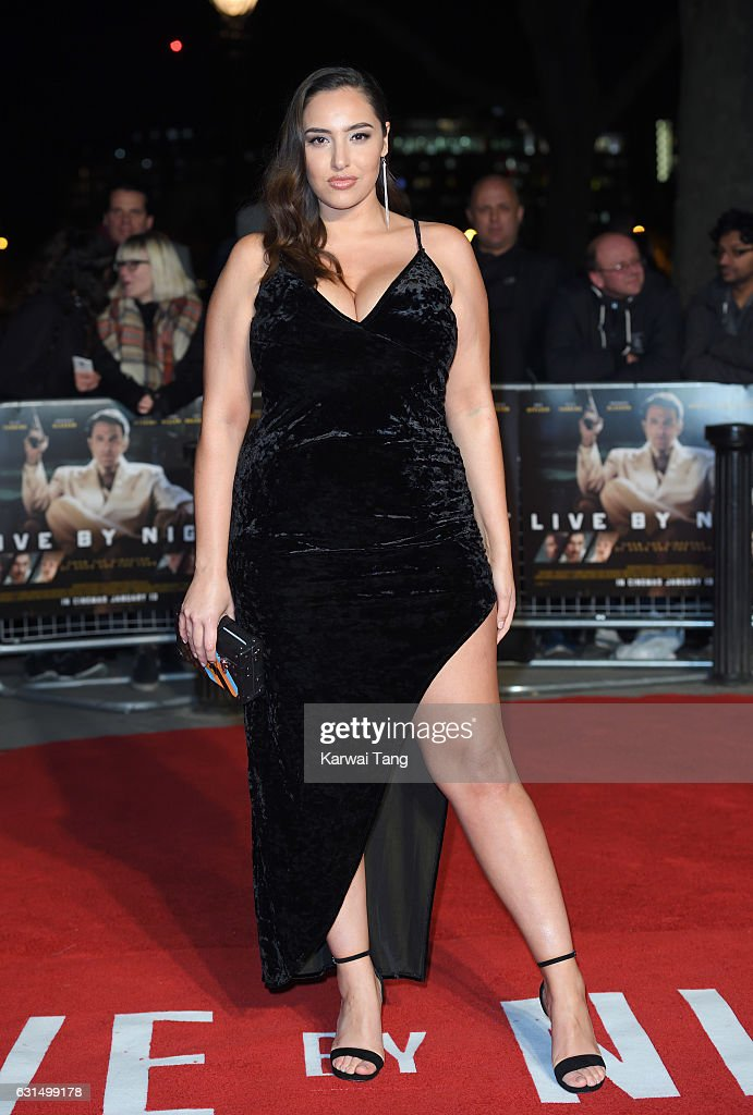 Jada Sezer attends the European Film Premiere of 'Live By Night' at The BFI Southbank on January 11, 2017 in London, United Kingdom.