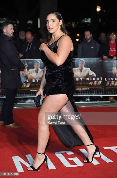 Jada Sezer attends the European Film Premiere of Live By Night at The BFI Southbank on January 11 2017 in London United Kingdom