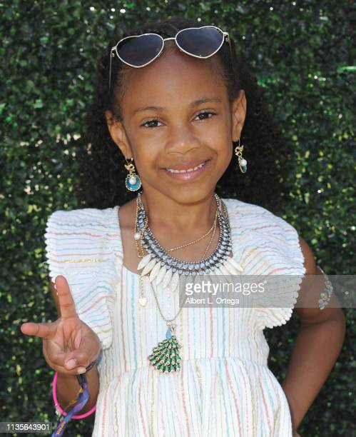 Jada Whitest arrives for Clubhouse Kidchella held at Pershing Square on April 6 2019 in Los Angeles California