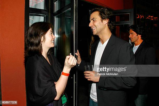 Jada Yuan and Ben Silverman attend BEN SILVERMAN ERIC HADLEY and CHARLIE WALK host THE NETWORK UPFRONTS dinner at Spotlight Live on May 17 2007