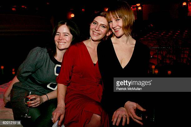 Jada Yuan Melena Ryzik and Ivy Baldwin attend MACBETH The Benefit at Brooklyn Academy of Music on February 12 2008 in New York City