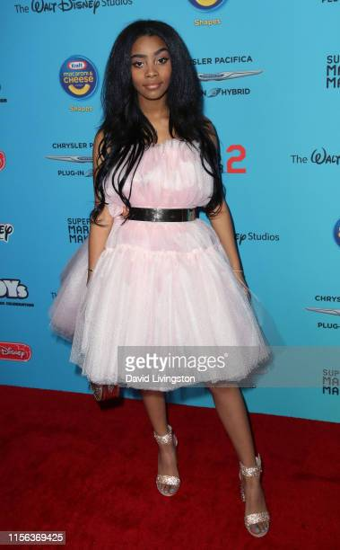 Jadah Marie attends the 2019 Radio Disney Music Awards at CBS Studios Radford on June 16 2019 in Studio City California