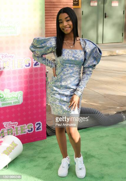 Jadah Marie attends the screening of the Disney Channel original movie ZOMBIES 2 at Walt Disney Studios Main Theater on January 25 2020 in Burbank...