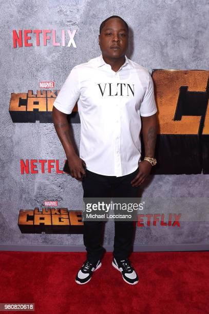 Jadakiss attends the Netflix Original Series Marvel's Luke Cage Season 2 New York City Premiere on June 21 2018 in New York City