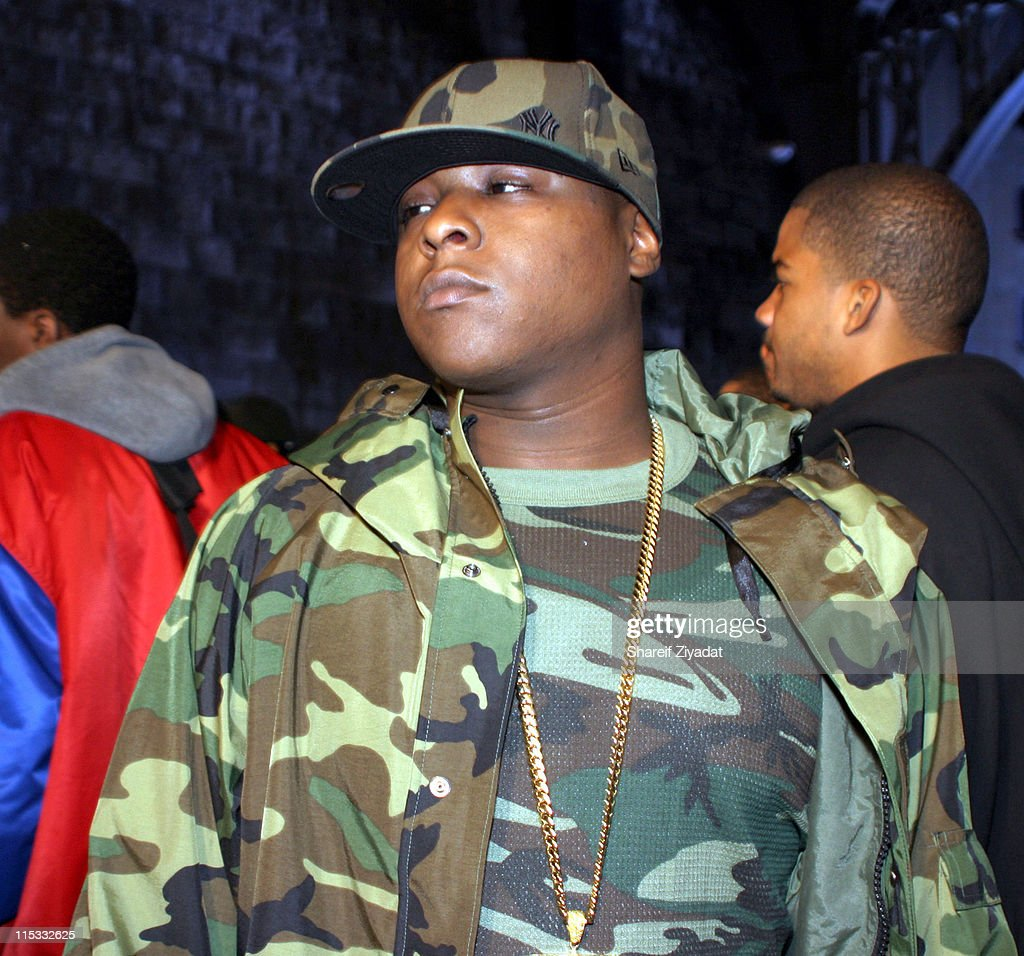 Jadakiss during Ja Rule Video Shoot in New York at Streets of Harlem in New York City, New York, United States.