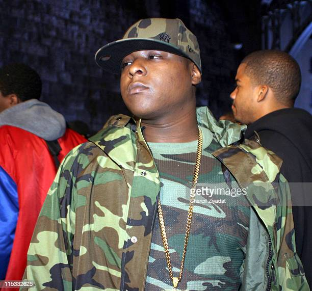 Jadakiss during Ja Rule Video Shoot in New York at Streets of Harlem in New York City New York United States