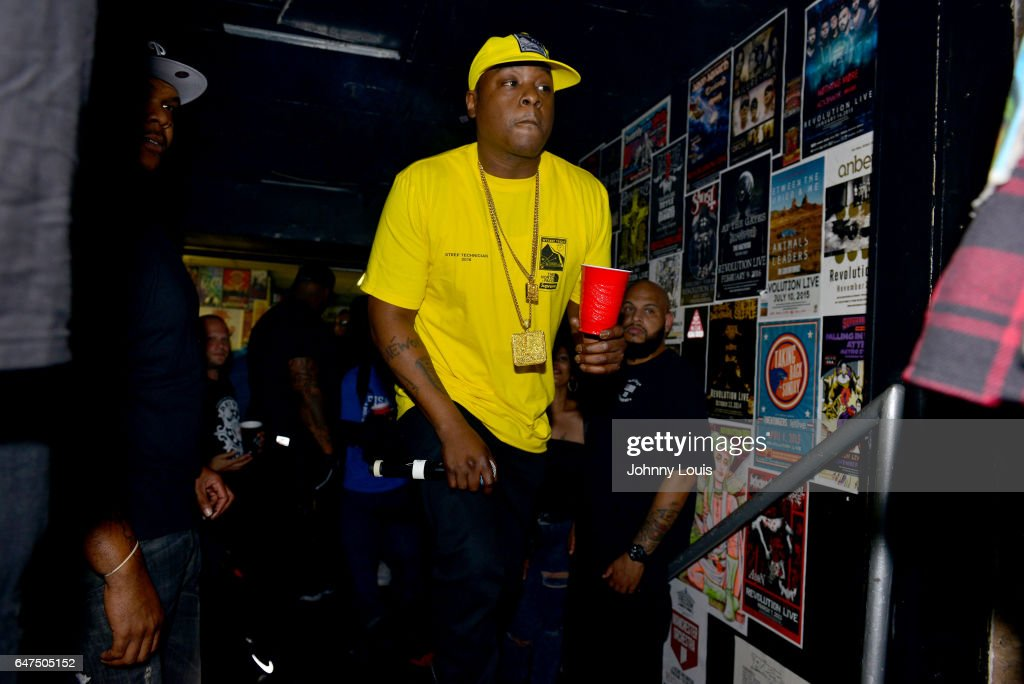 Jadakiss performs onstage during 'Freddy Vs Jason Tour' at Revolution Live on March 2, 2017 in Fort Lauderdale, Florida.