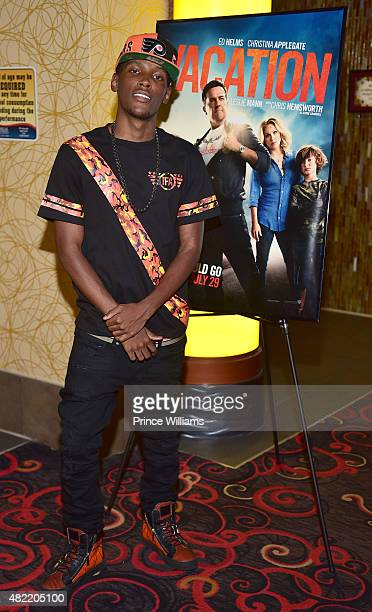 Jadarius Jenkins attends Vacation Vip Reception/Movie Screening Hosted By Bossip And Ryan Cameron at Regal Atlantic Station on July 27 2015 in...