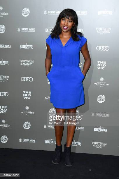 Jade Anouka arriving at the Summer Party 199 for The Old Vic held at The Brewery, London. PRESS ASSOCIATION Photo. Picture date: Tuesday June 13,...