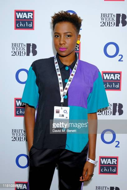 Jade Anouka attends Jess Glynne gig at War Child BRITs Week Together with O2 to support children affected by conflict at O2 Shepherd's Bush Empire on...