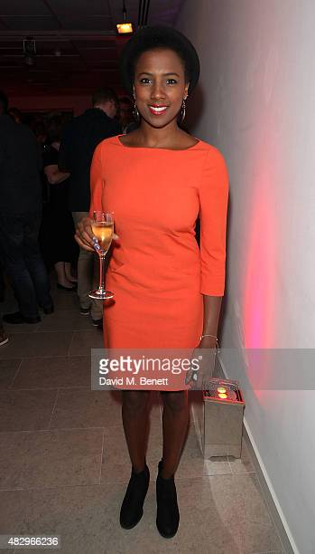 "Jade Anouka attends the after party following the press night performance of ""Splendour"", playing at the Donmar Warehouse, at The Hospital Club on..."