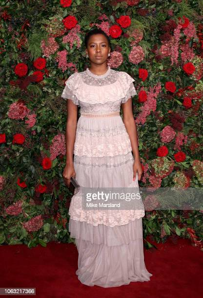 Jade Anouka attends the Evening Standard Theatre Awards 2018 at Theatre Royal on November 18, 2018 in London, England.