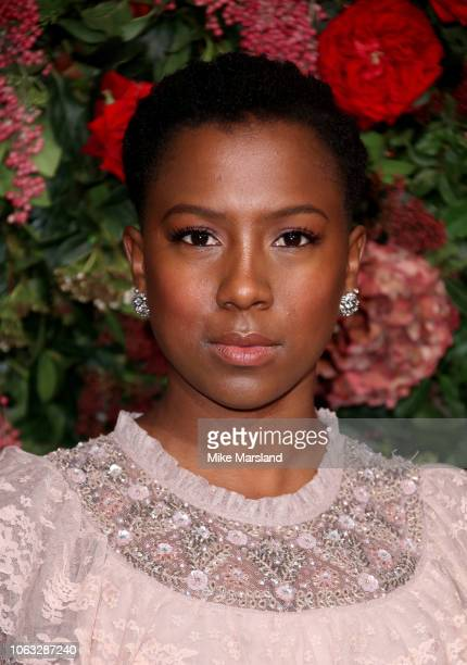 Jade Anouka attends the Evening Standard Theatre Awards 2018 at Theatre Royal on November 18 2018 in London England