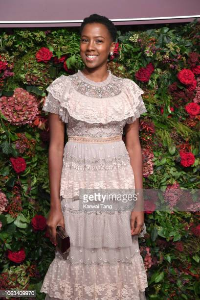 Jade Anouka attends the Evening Standard Theatre Awards 2018 at Theatre Royal Drury Lane on November 18, 2018 in London, England.