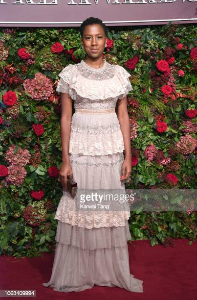 Jade Anouka attends the Evening Standard Theatre Awards 2018 at Theatre Royal Drury Lane on November 18 2018 in London England