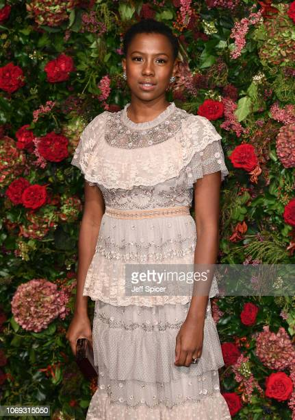 Jade Anouka attends the Evening Standard Theatre Awards 2018 at the Theatre Royal on November 18, 2018 in London, England.