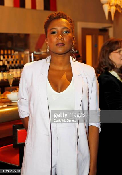 Jade Anouka attends the inaugural Casting Awards, celebrating the significant achievements of casting in the fields of Theatre, TV, Film and...