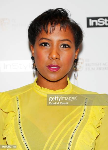 Jade Anouka attends the InStyle EE Rising Star Party Ahead Of The EE BAFTAs at Granary Square on February 6 2018 in London England
