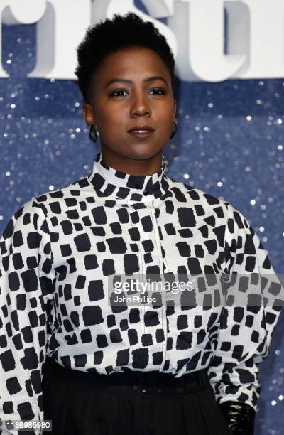 Jade Anouka attends the Last Christmas UK Premiere at the BFI Southbank on November 11 2019 in London England