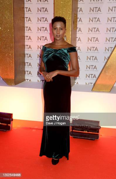 Jade Anouka attends the National Television Awards 2020 at The O2 Arena on January 28, 2020 in London, England.