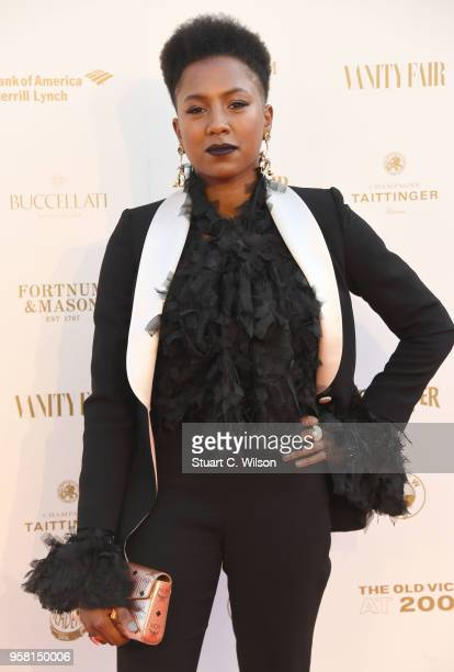Jade Anouka attends The Old Vic Bicentenary Ball at The Old Vic Theatre on May 13, 2018 in London, England.