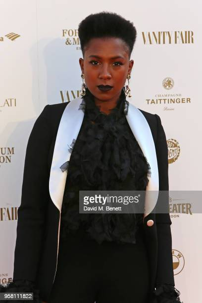 Jade Anouka attends The Old Vic Bicentenary Ball to celebrate the theatre's 200th birthday at The Old Vic Theatre on May 13, 2018 in London, England.