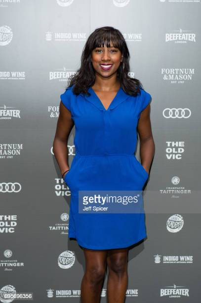 Jade Anouka attends The Old Vic Summer Party at The Brewery on June 13 2017 in London United Kingdom
