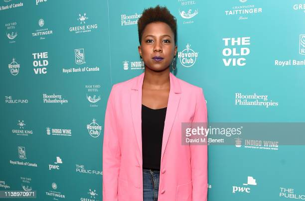 Jade Anouka attends the press night after party for All My Sons at The Ham Yard Hotel on April 23 2019 in London England