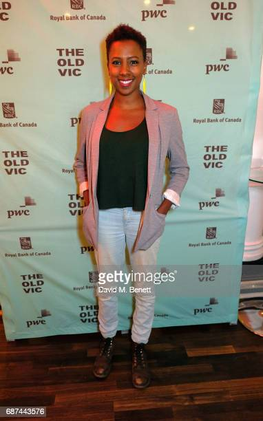 "Jade Anouka attends the press night after party for ""Woyzeck"" at The Old Vic Theatre on May 23, 2017 in London, England."