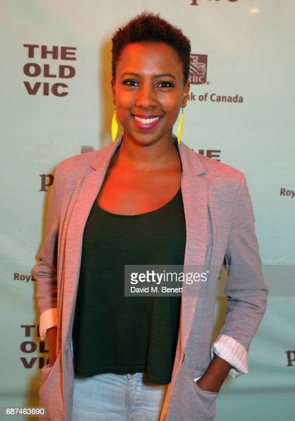 """Jade Anouka attends the press night after party for """"Woyzeck"""" at The Old Vic Theatre on May 23, 2017 in London, England."""