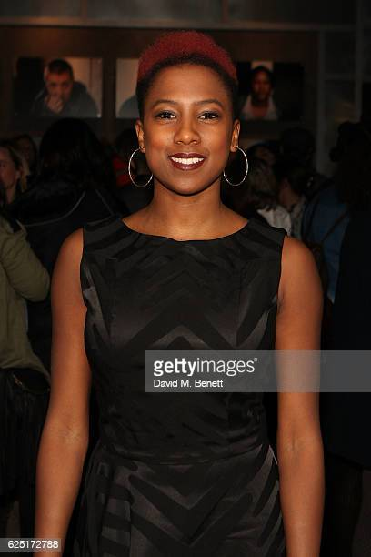 Jade Anouka attends the press night of The Donmar's Shakespeare Trilogy at the new Donmar King's Cross Theatre on November 22, 2016 in London,...