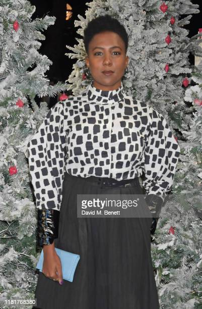 """Jade Anouka attends the UK Premiere of """"Last Christmas"""" at the BFI Southbank on November 11, 2019 in London, England."""