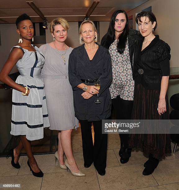 Jade Anouka Jackie Clune Phylida Lloyd Sharon Rooney and Harriet Walter attend an after party following the press night performance of 'Henry IV'...