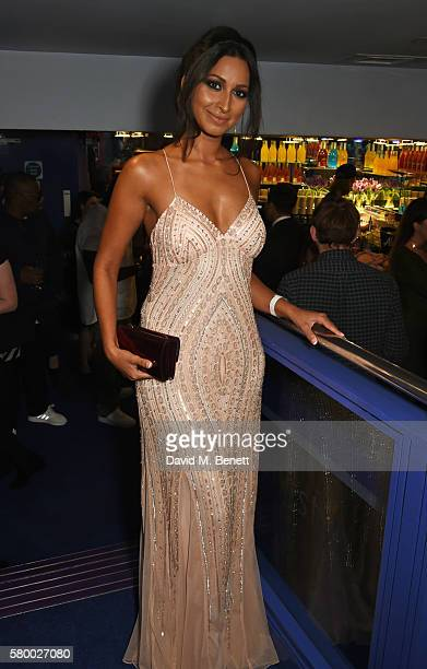 Jade Asha attends the UK Premiere of The Intent at Cineworld Haymarket on July 25 2016 in London England